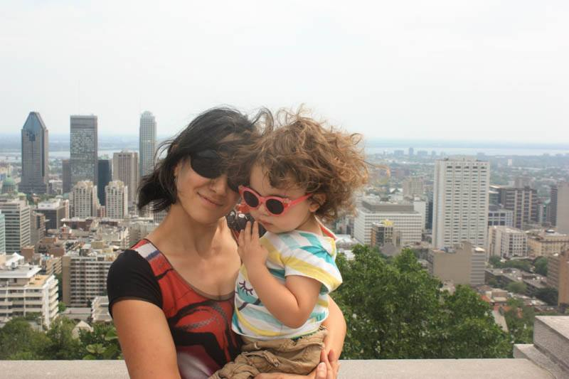 Mama ir dukra Monrealyje