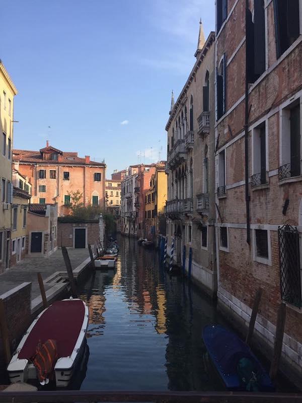 Kanalas Venecijoje, Italija