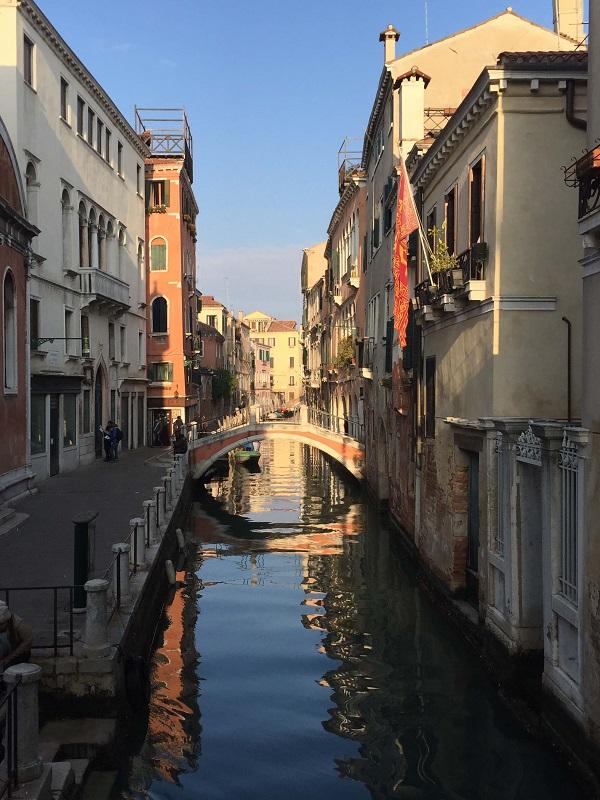 Venecijos kanalas ir tiltas