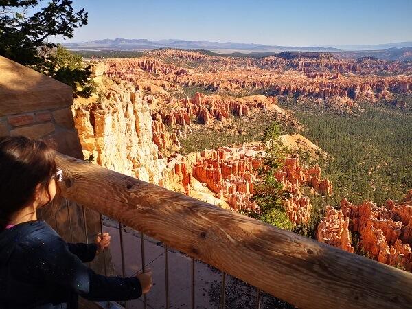 vaizdas į Bryce kanjoną Jutoje, JAV