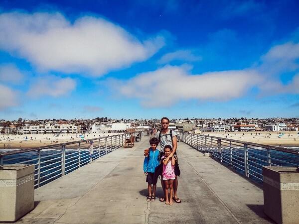 Mūsų šeima Kalifornijoje