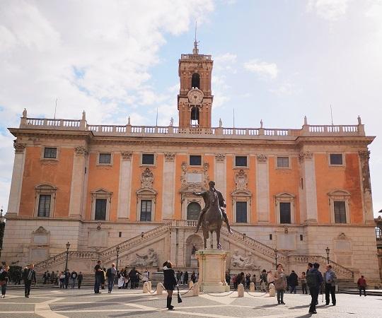 PIazza del Campidoglio Roma Italija