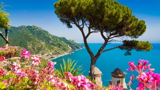 Amalfio pakrantė Italija