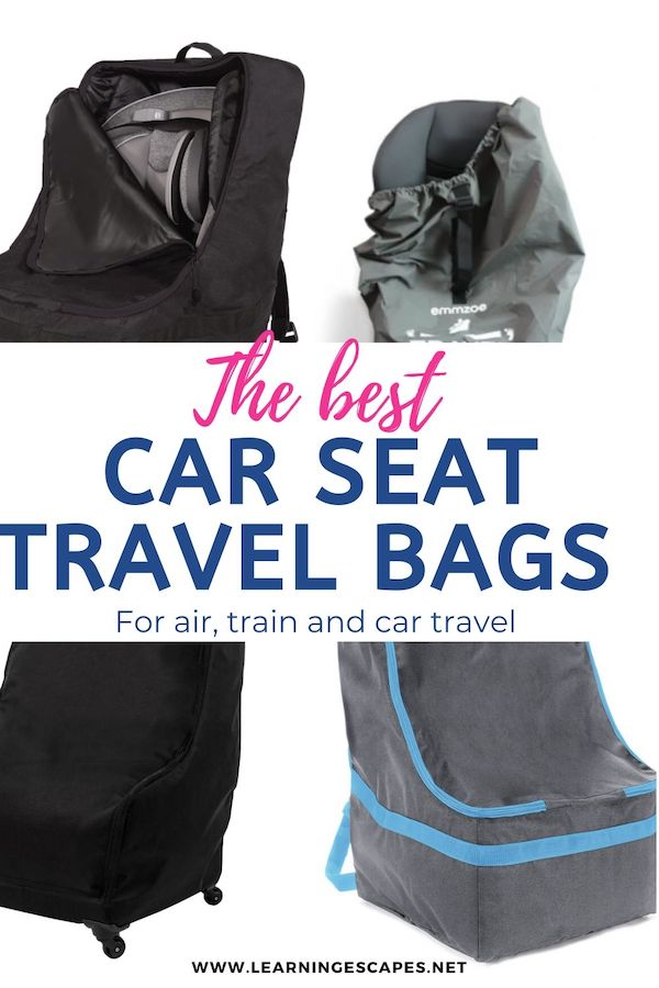 Car Seat Travel Bags And, Zohzo Adjustable Padded Bag For Car Seat